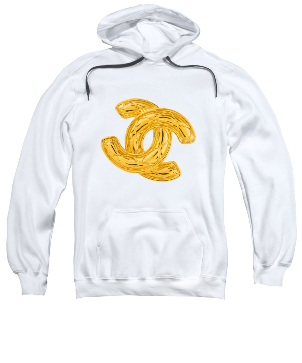 Chanel Sweatshirt featuring the painting Chanel Jewelry-4 by Nikita