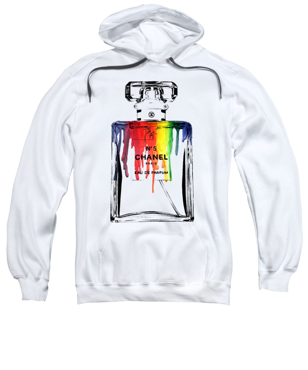 Bottle Sweatshirt featuring the painting Chanel by Mark Ashkenazi