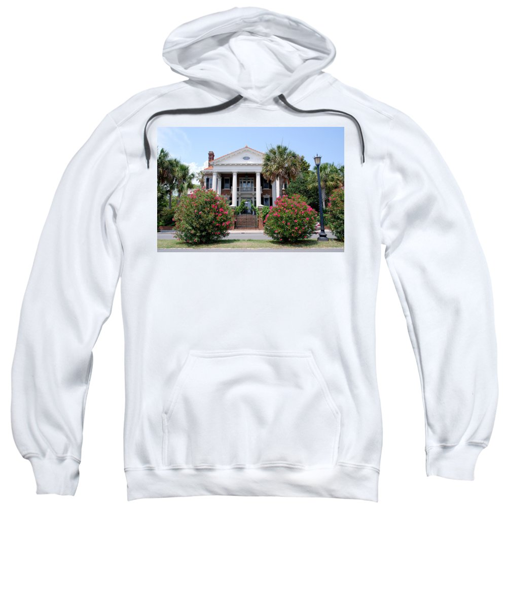 Photography Sweatshirt featuring the photograph Charleston At His Best by Susanne Van Hulst