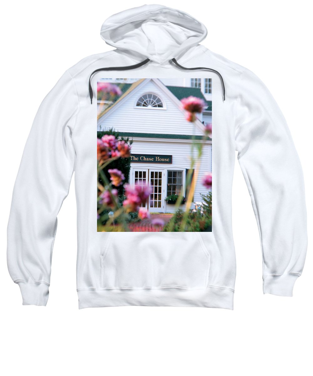 The Chase House Sweatshirt featuring the photograph Chase House by Michael Mooney