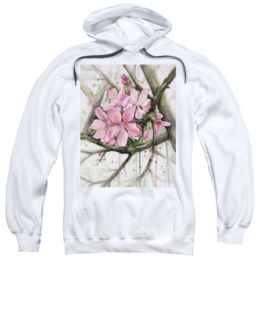 Blooming Tree Paintings Hooded Sweatshirts T-Shirts