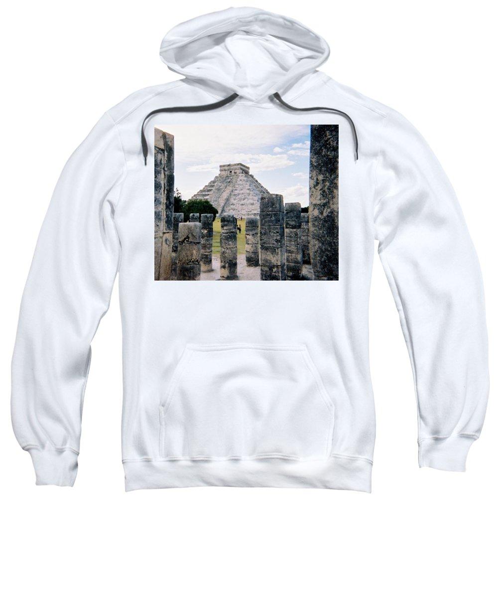 Chitchen Itza Sweatshirt featuring the photograph Chichen Itza 3 by Anita Burgermeister