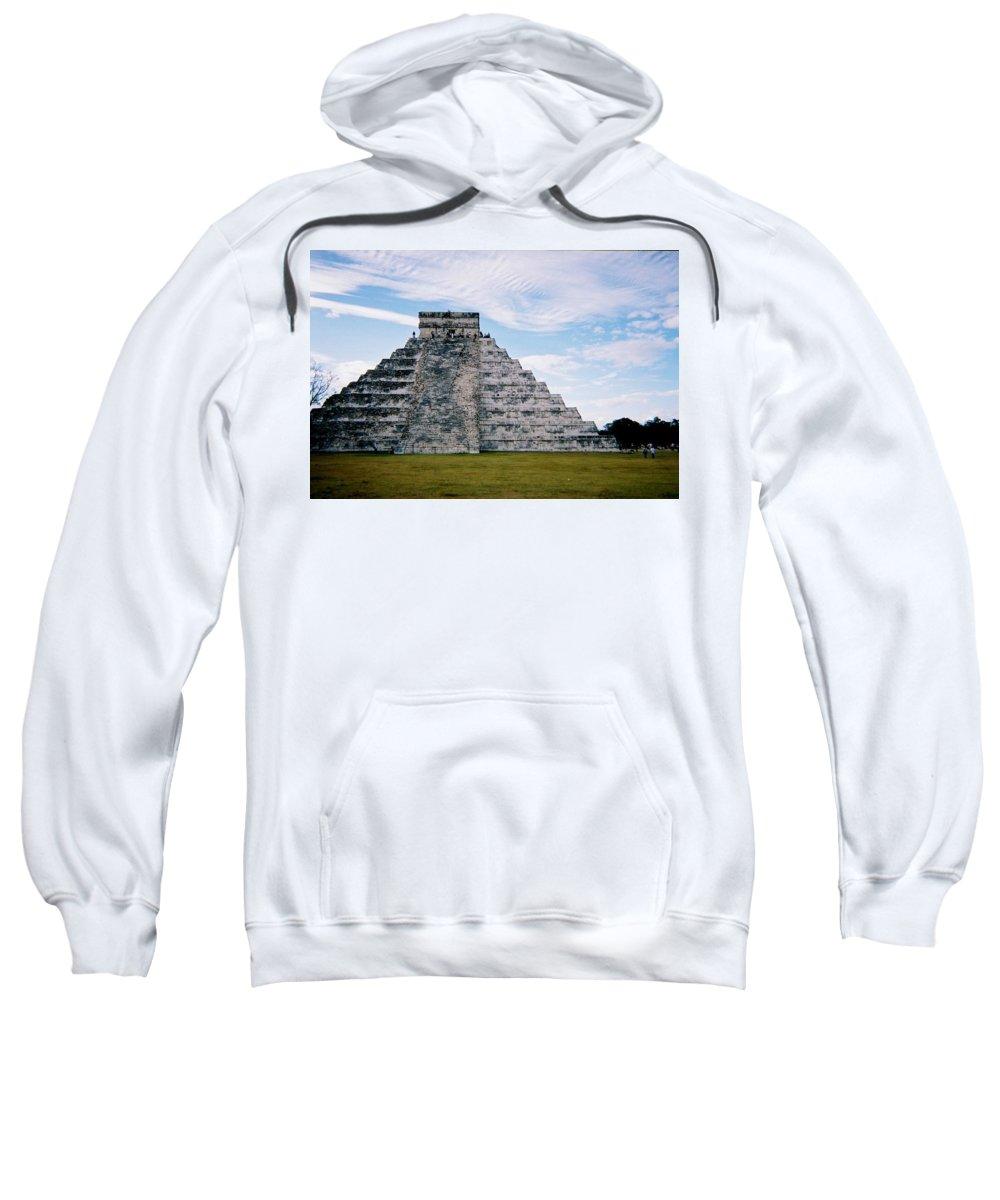 Chitchen Itza Sweatshirt featuring the photograph Chichen Itza 4 by Anita Burgermeister