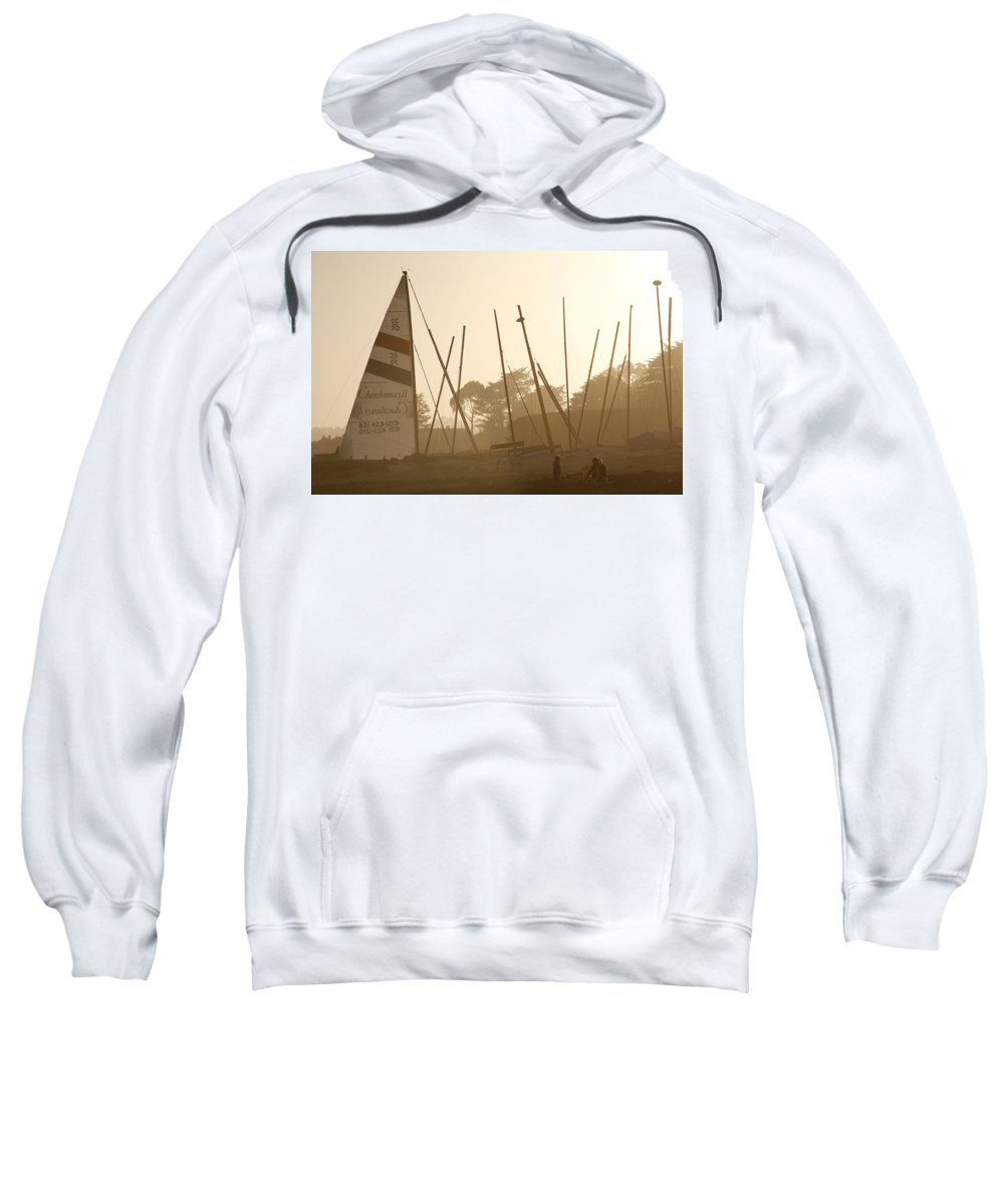 Ship Sweatshirt featuring the photograph Child's Play by Marilyn Hunt