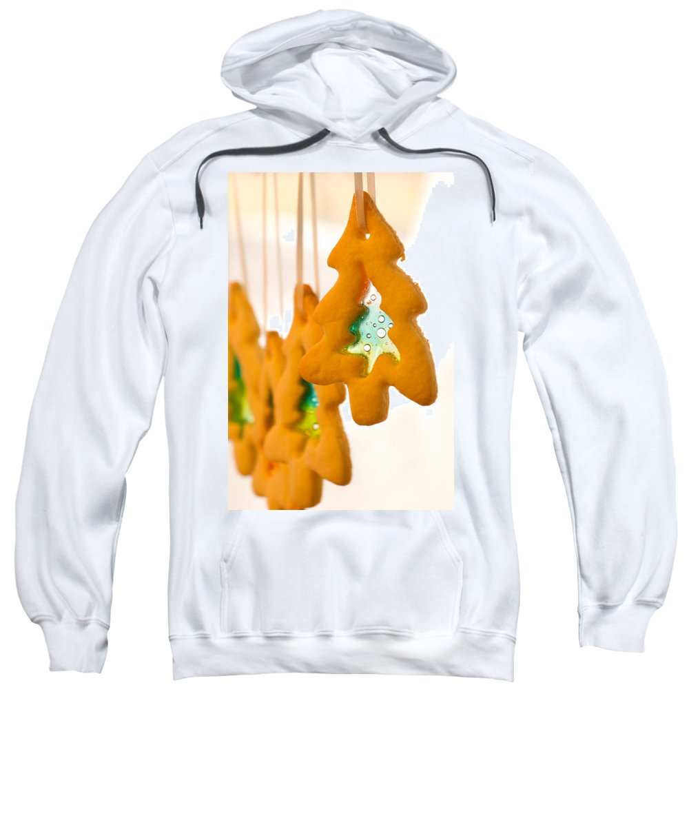 Cookie Sweatshirt featuring the photograph Christmas Cookies by Lisa Knechtel