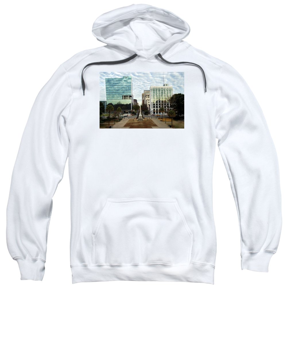 Christmas Sweatshirt featuring the photograph Christmas In Columbia Sc by Skip Willits