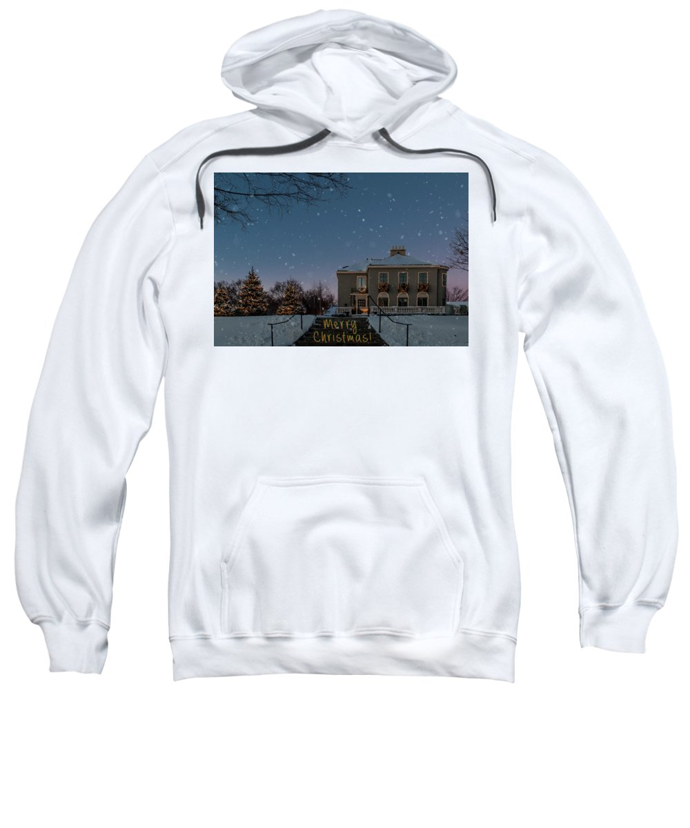 Christmas Sweatshirt featuring the photograph Christmas Lights Series #2 by Patti Deters