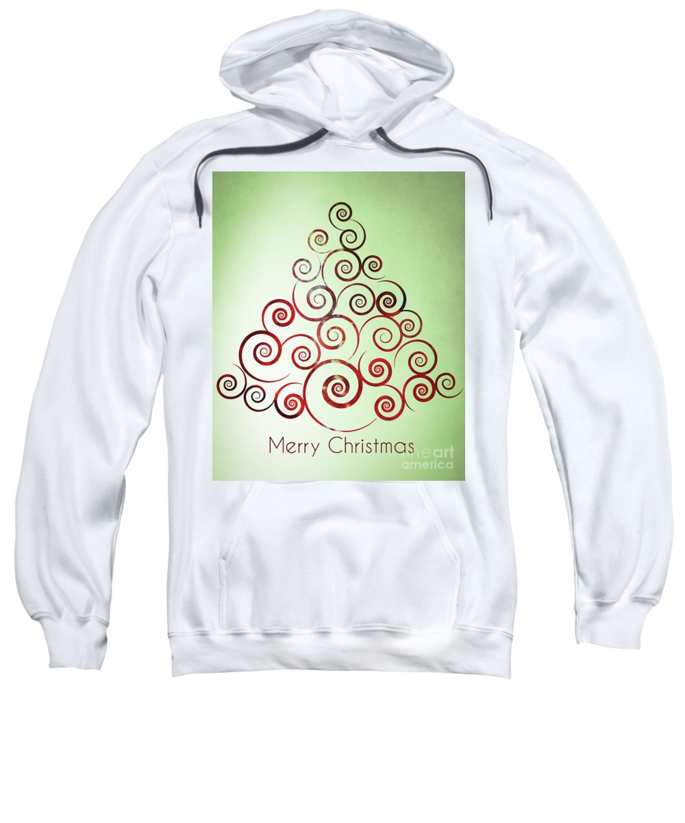 Design Sweatshirt featuring the photograph Christmas Tree by Andrea Anderegg