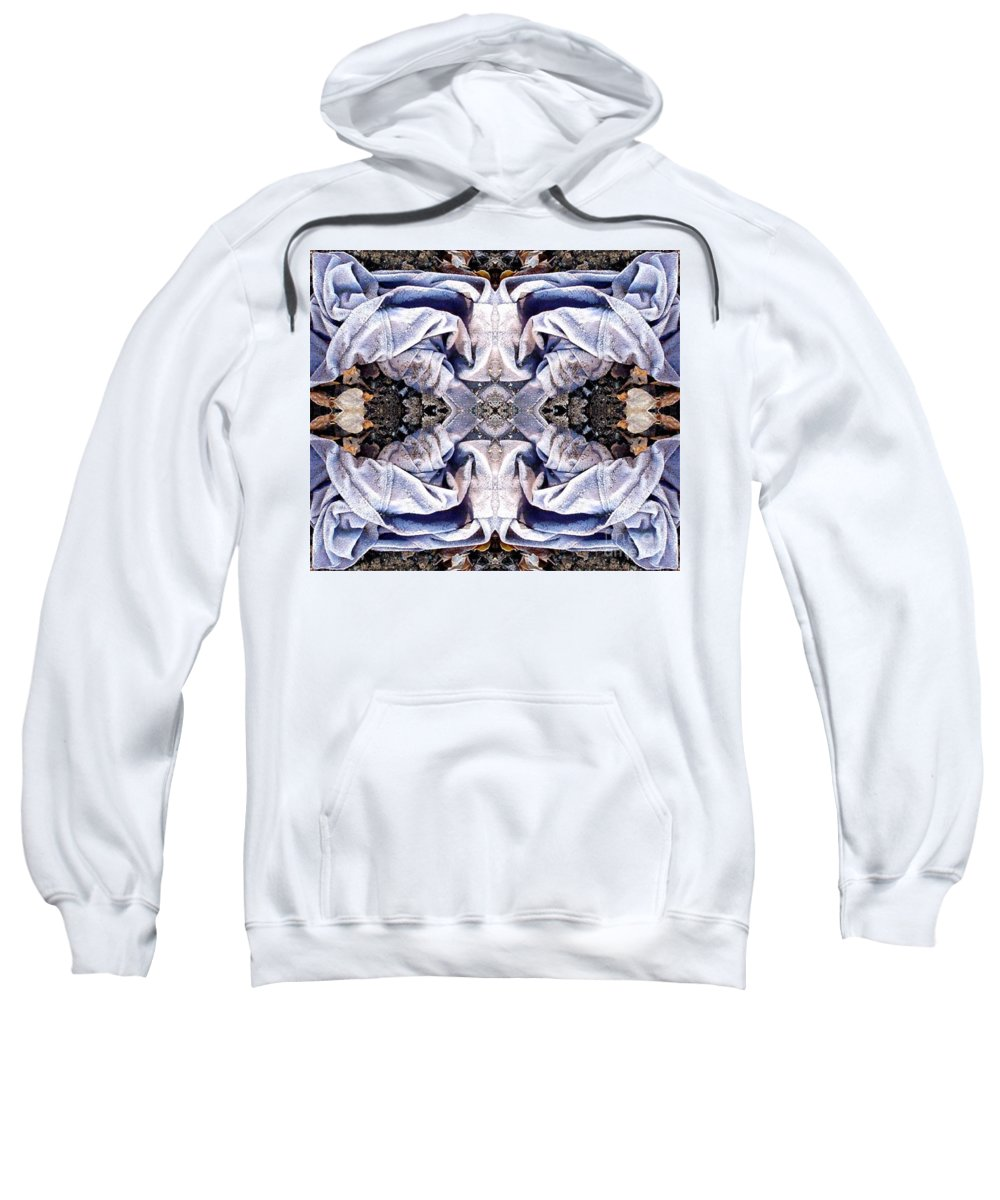 Abstract Sweatshirt featuring the digital art Church Clothing by Ron Bissett