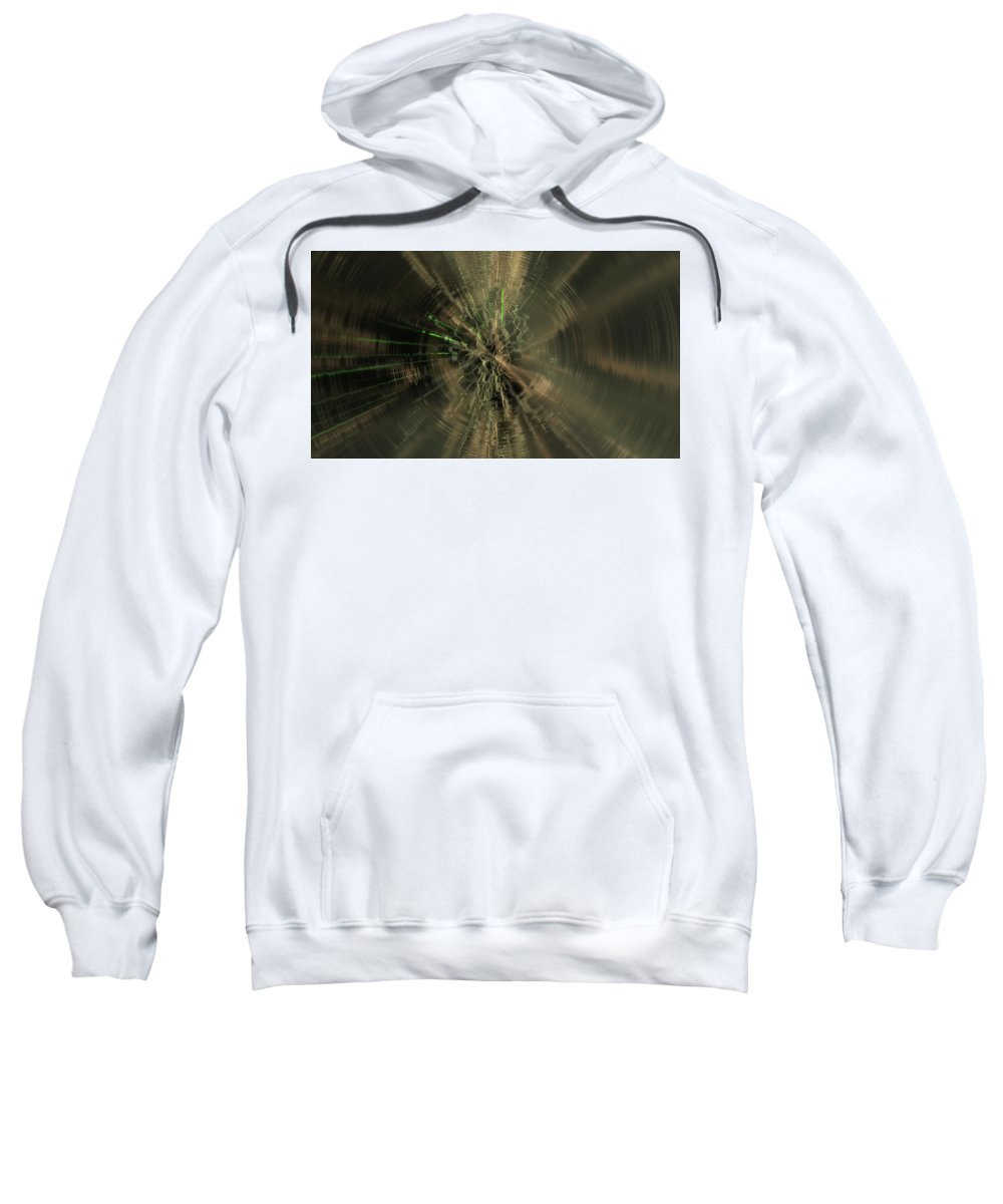 Circle Sweatshirt featuring the digital art Circle by Bert Mailer