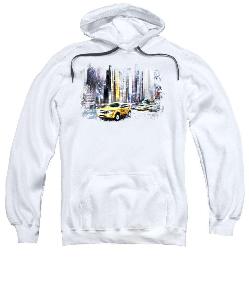 Times Square Hooded Sweatshirts T-Shirts
