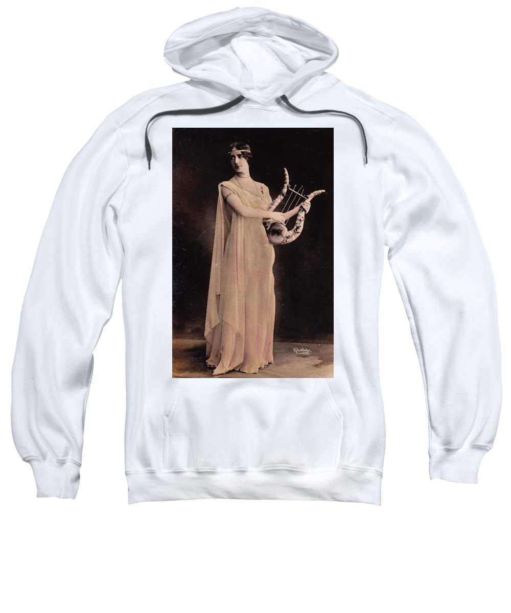 Cleo De Merode Sweatshirt featuring the photograph Cleo De Merode by Not known