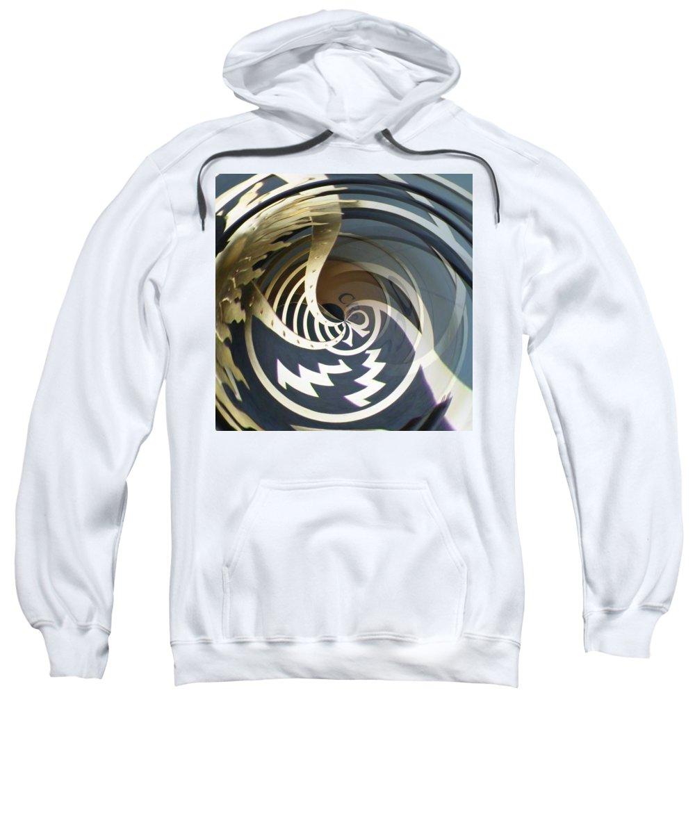 Clock Sweatshirt featuring the photograph Clockface 5 by Philip Openshaw