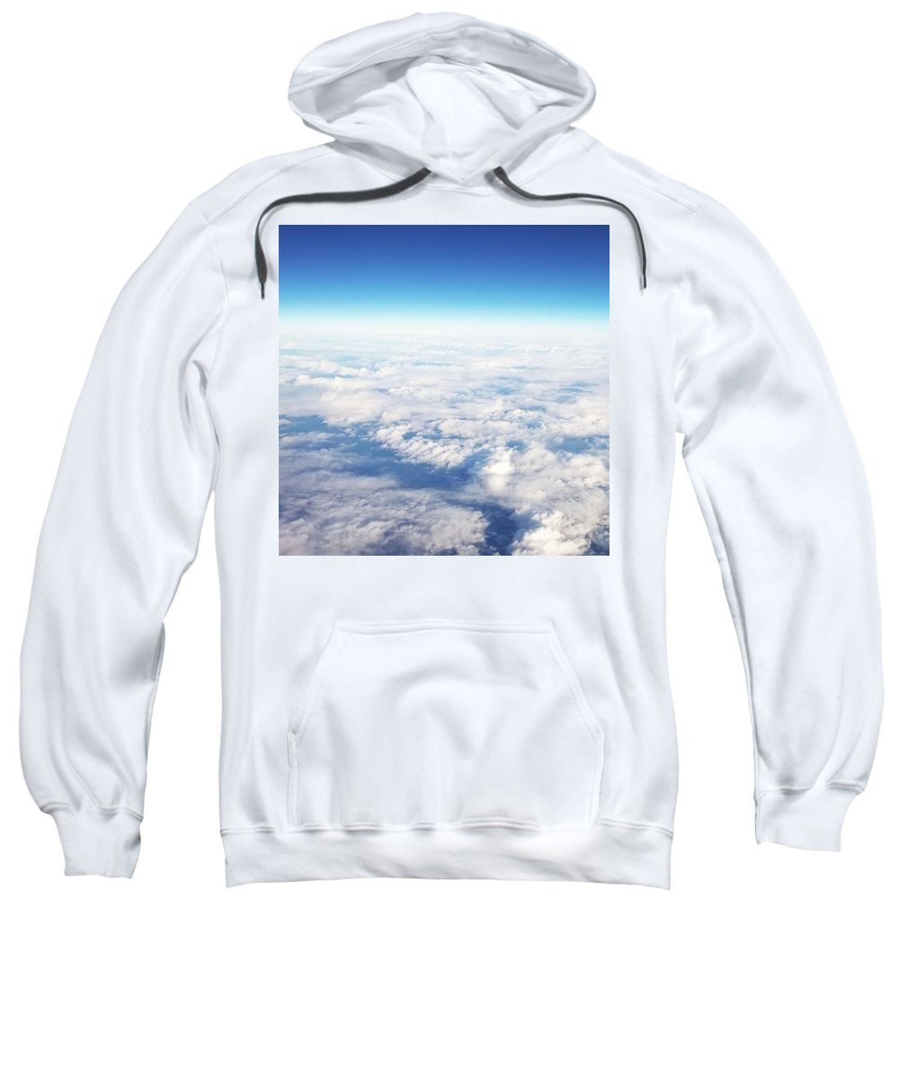 Sky Sweatshirt featuring the photograph Clouds Over Ireland by Paige Mitchell
