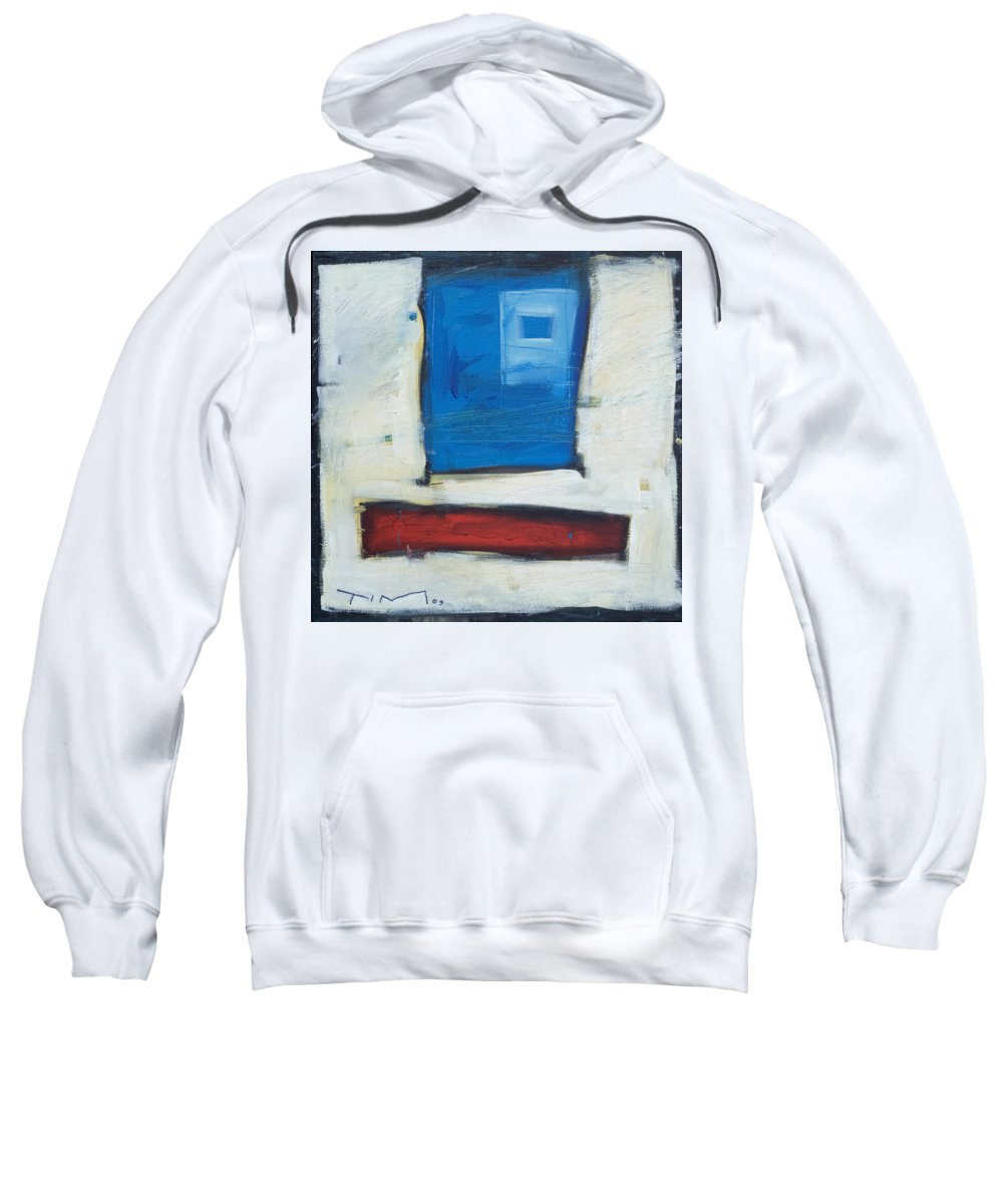 Clown Sweatshirt featuring the painting Clown by Tim Nyberg