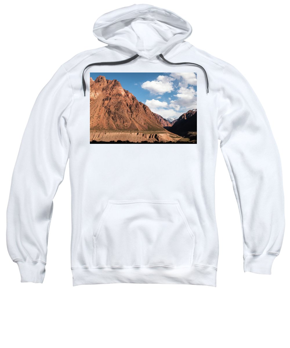 Landscape Sweatshirt featuring the photograph Colored Mountain by Fausto Capellari
