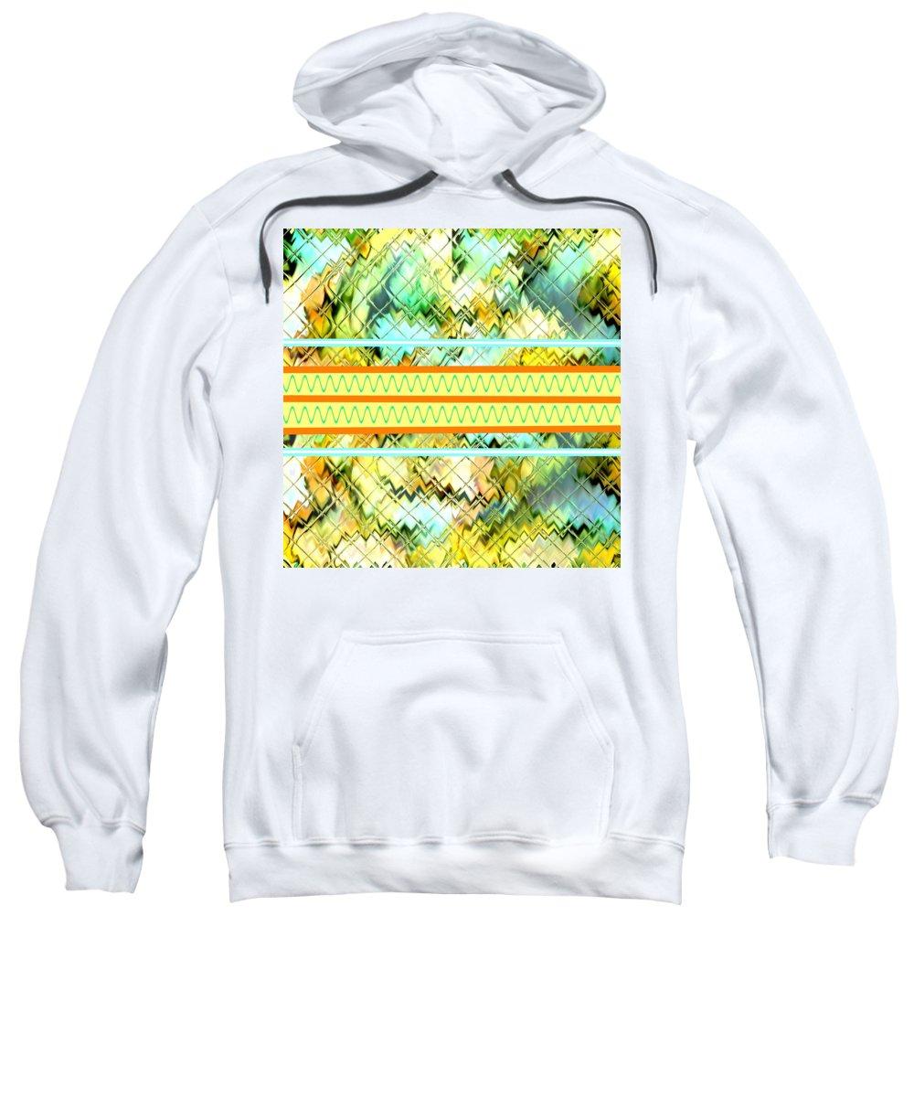 Announcement Sweatshirt featuring the painting Columnbia Tristia H B by Gert J Rheeders