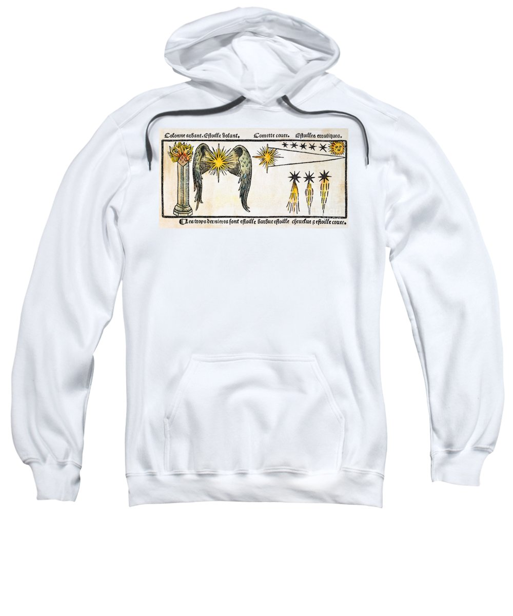 1496 Sweatshirt featuring the photograph Comet, 1496 by Granger