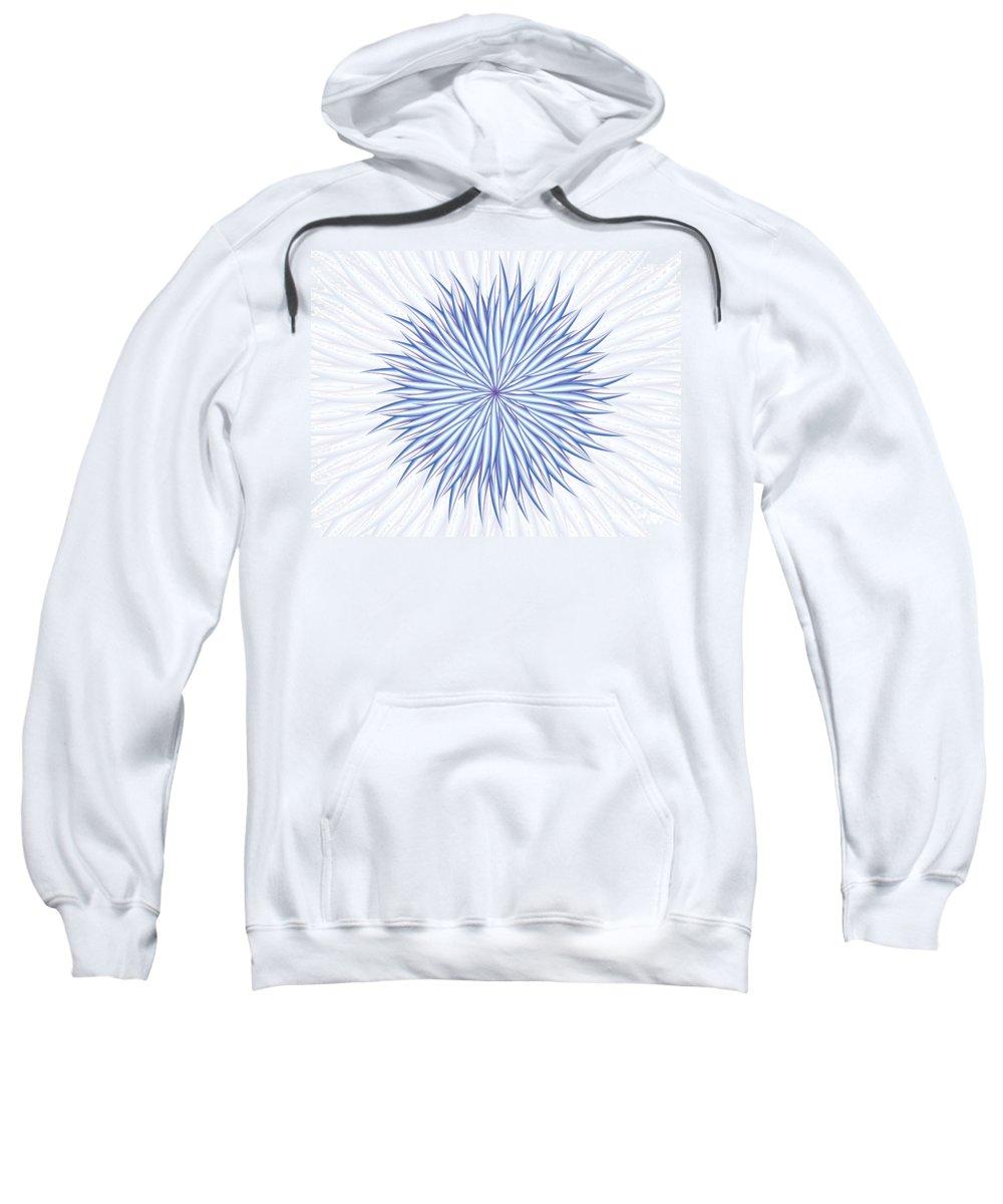 Jamie Lynn Gabrich Sweatshirt featuring the digital art Concentrate by Jamie Lynn