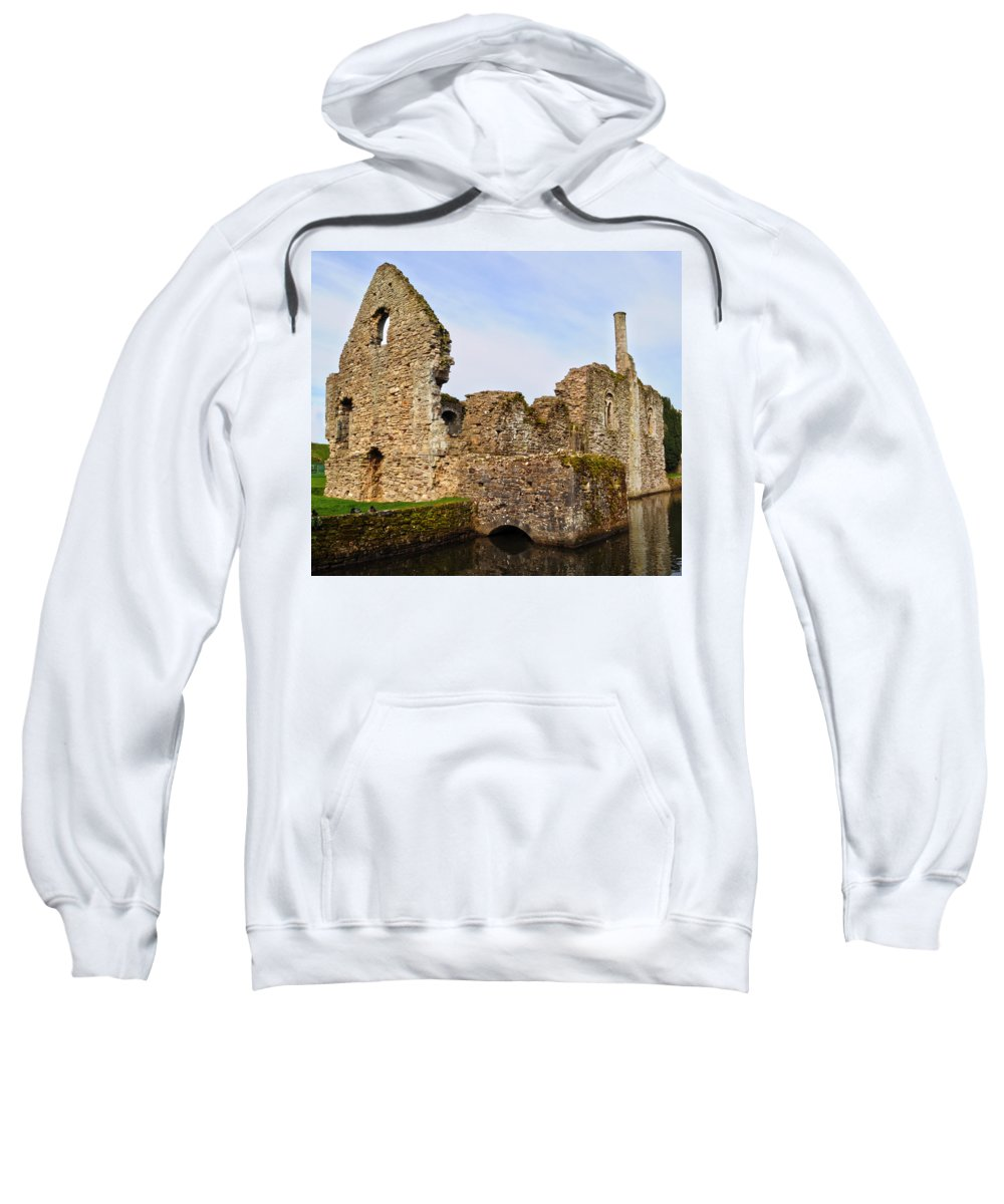Christchurch Sweatshirt featuring the photograph Constable's House Dorset by Chris Day