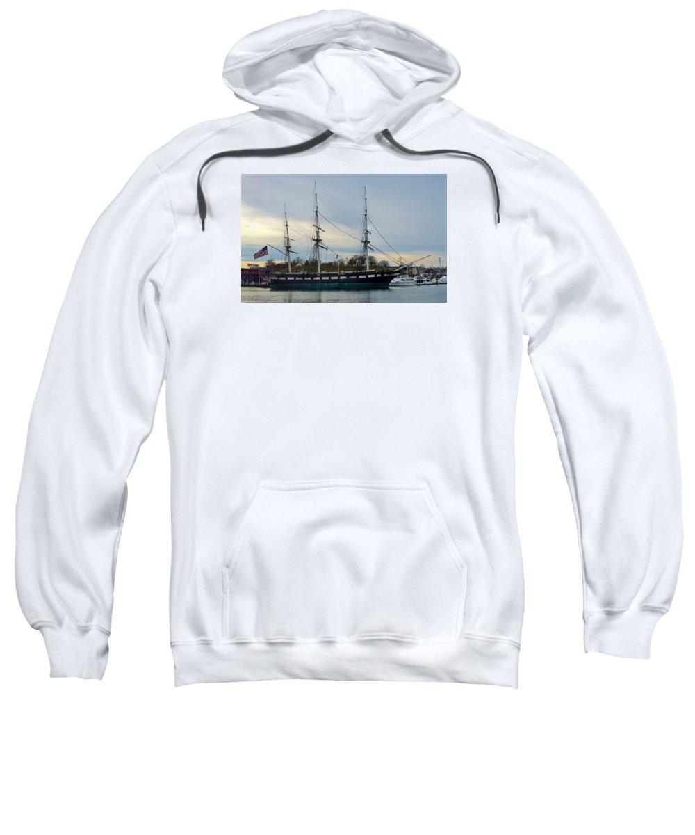 Baltimore Sweatshirt featuring the photograph Constellation Returns by William Bartholomew