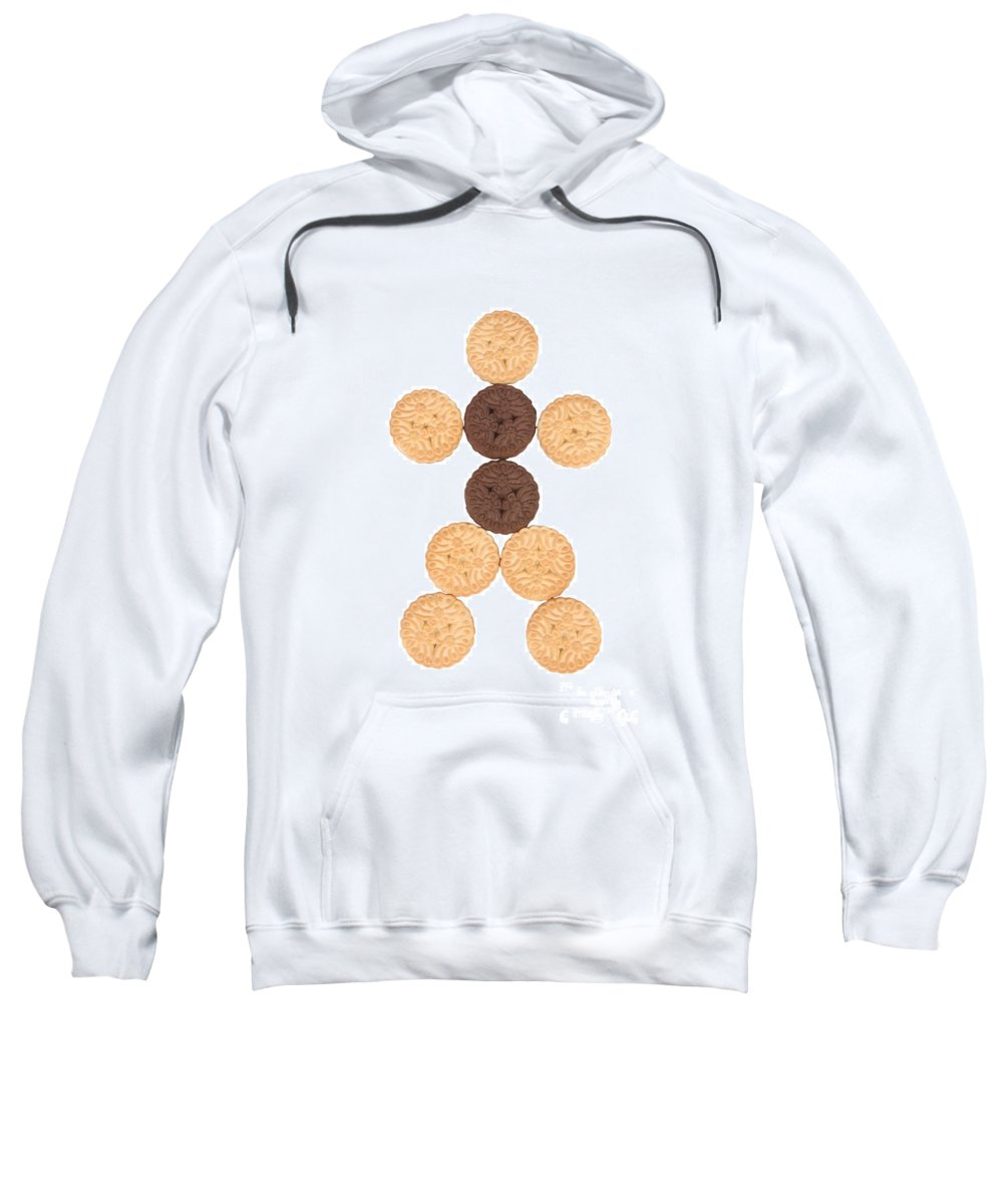 Cookies Sweatshirt featuring the photograph Cookie Man by James BO Insogna