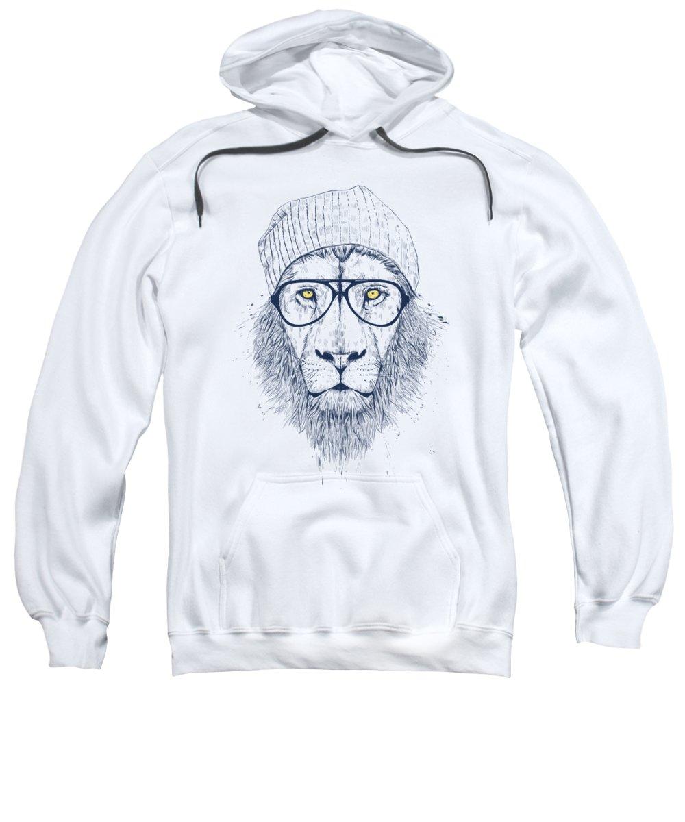 Lion Hooded Sweatshirts T-Shirts