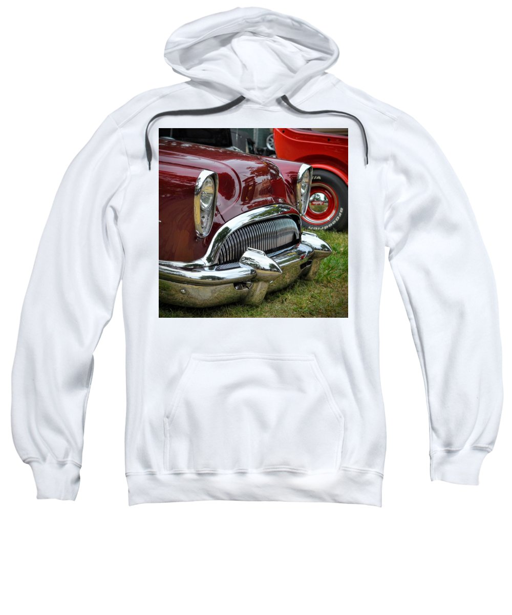 Chrome Sweatshirt featuring the photograph Cool Ride by Dean Ferreira