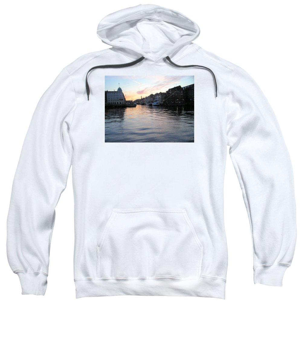 City Scape Sweatshirt featuring the photograph Copenhagen01 by Rogers