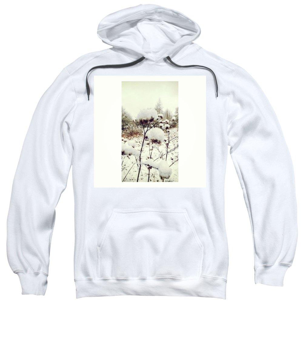 Floral Hooded Sweatshirts T-Shirts