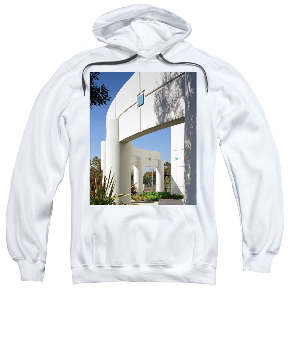 Architecture Sweatshirt featuring the photograph Curvature by Kelley King