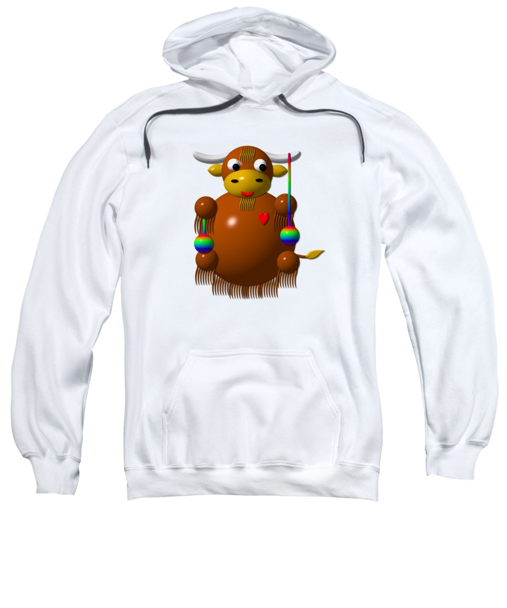 Yak Hooded Sweatshirts T-Shirts