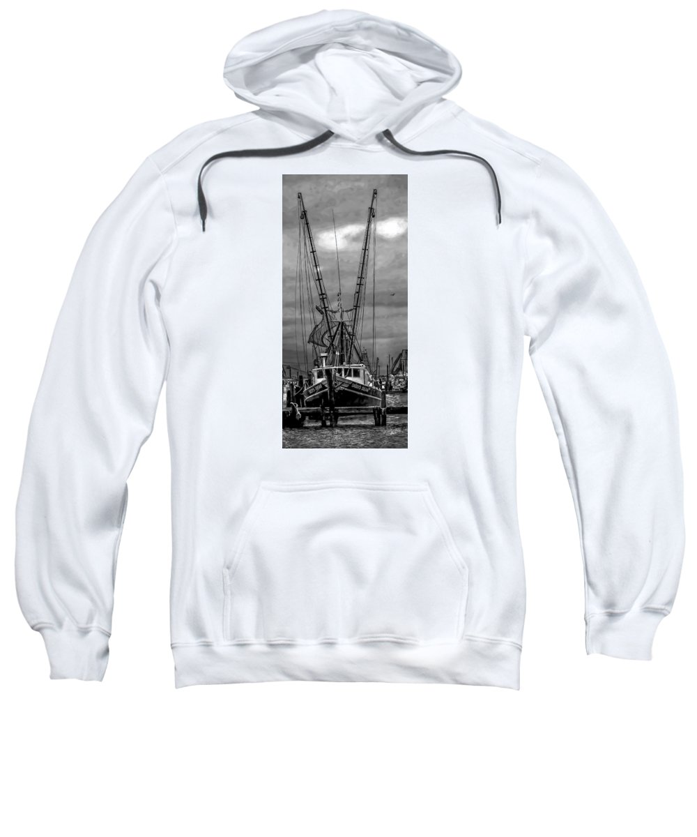 Early Morning Sweatshirt featuring the photograph Daddy's Dream by Jim Collier