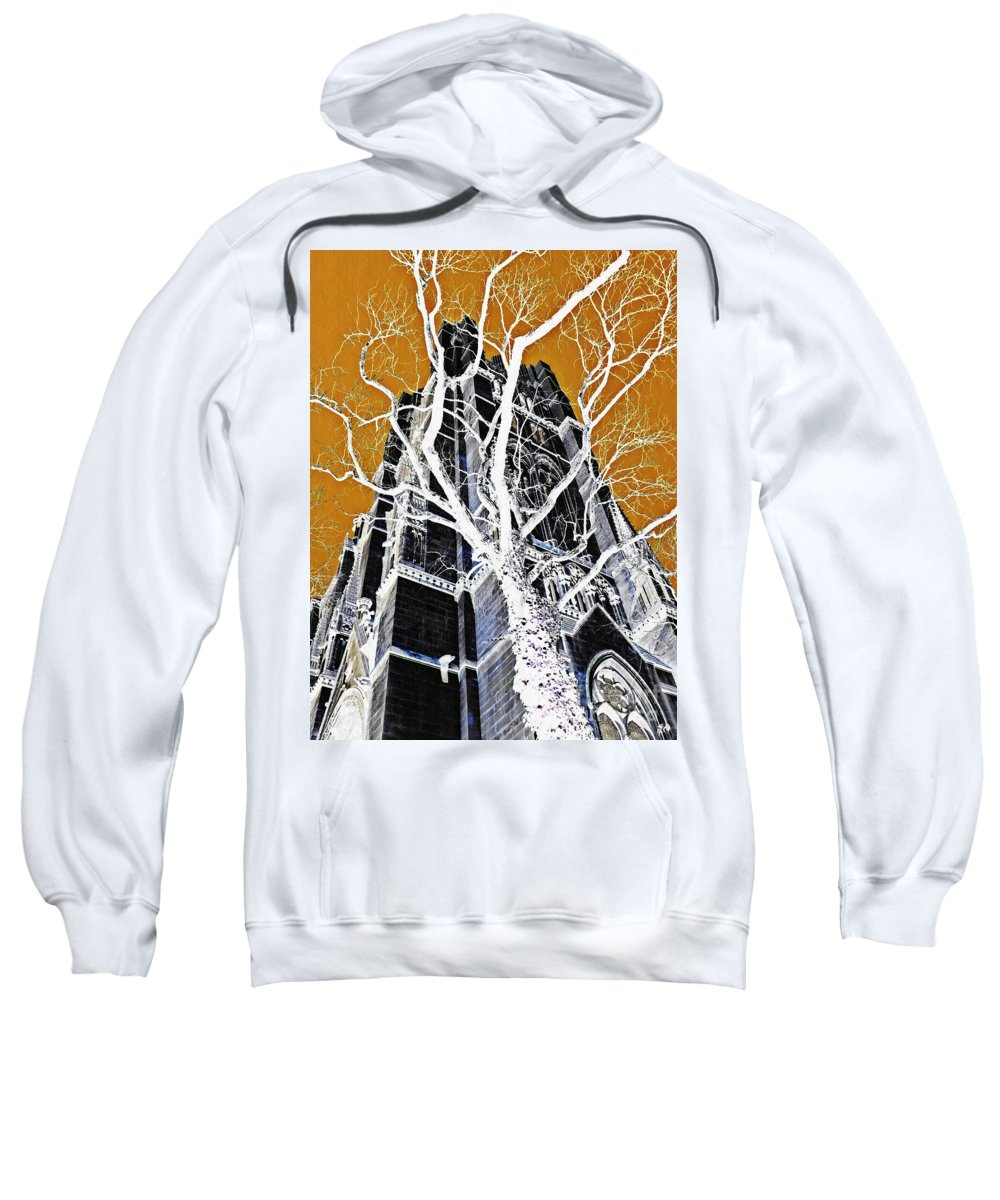 Tower Sweatshirt featuring the photograph Dark Tower by Sarah Loft