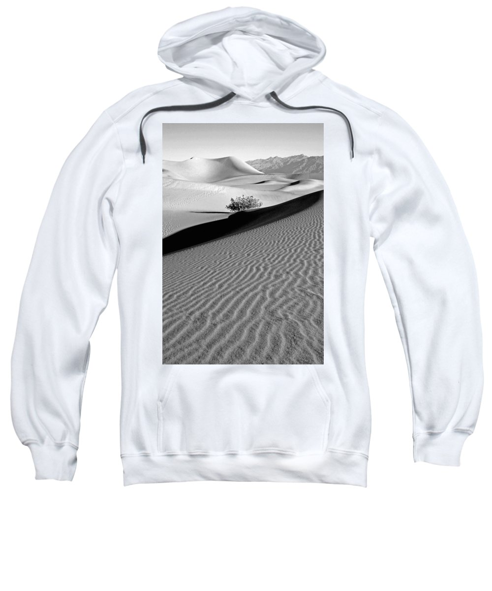 Desert Sweatshirt featuring the photograph Death Valley by Lusi Morhayim
