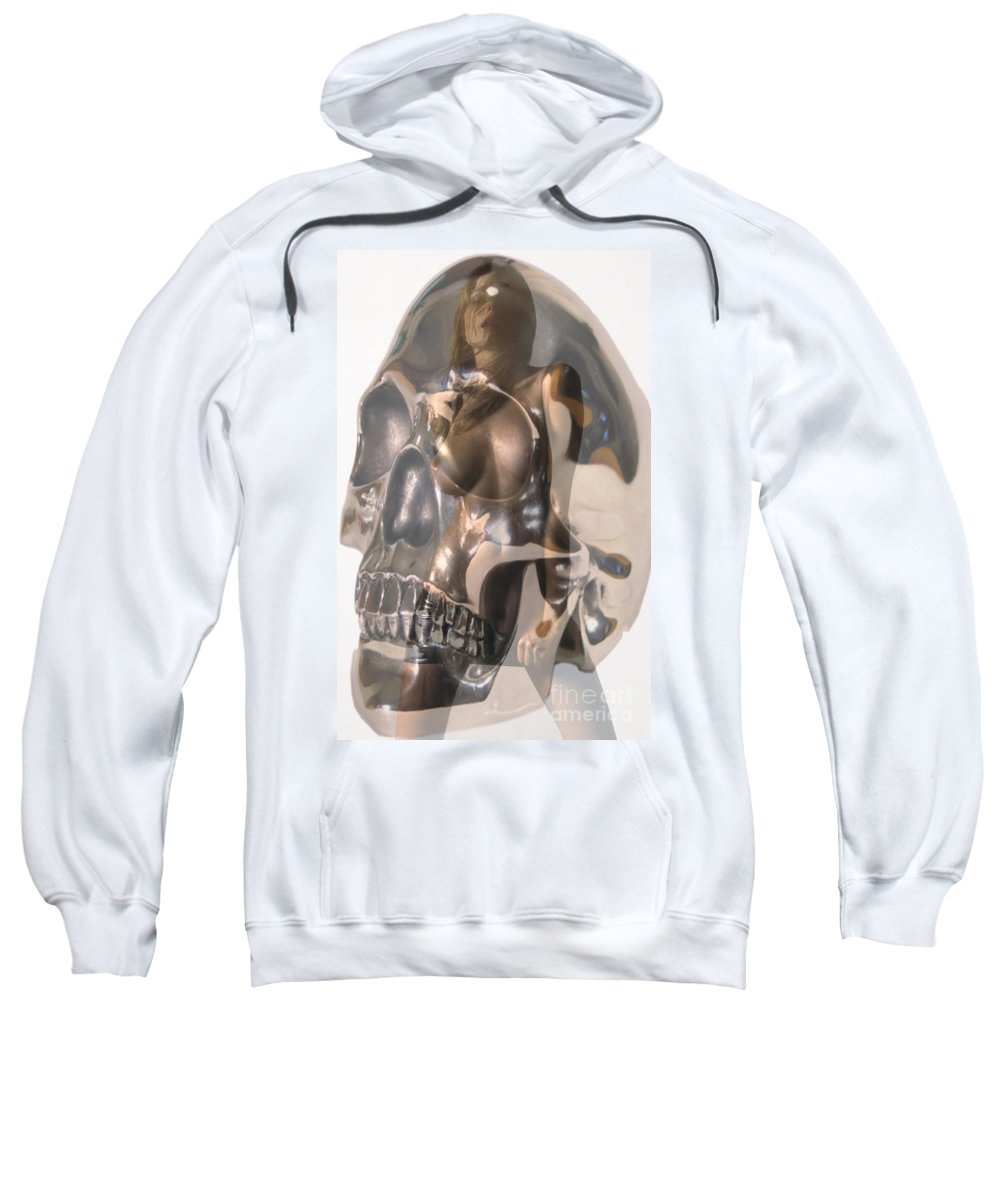 Skull Sweatshirt featuring the photograph Devils Dance by Thomas Oliver