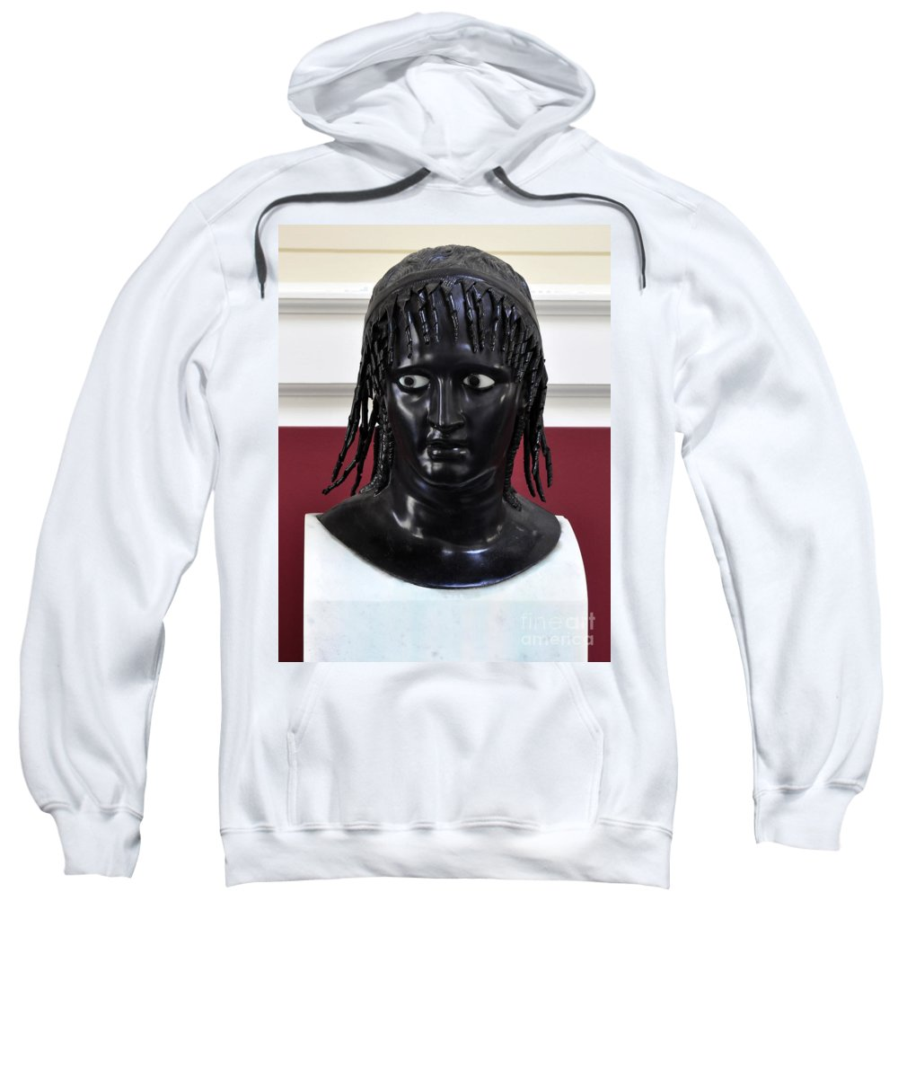 Clay Sweatshirt featuring the photograph Did You See That by Clayton Bruster