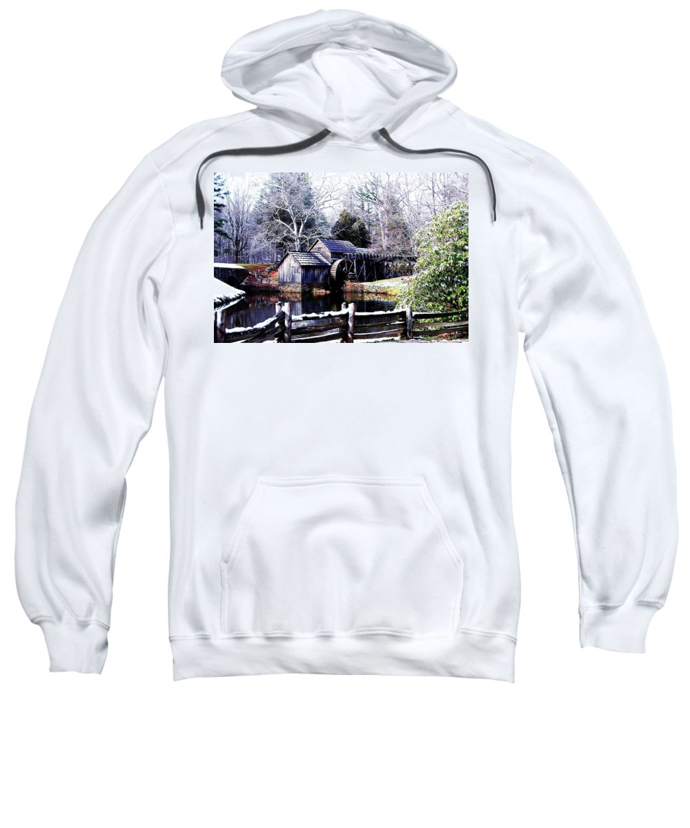 Mill Sweatshirt featuring the photograph Digital Mill by Eric Liller