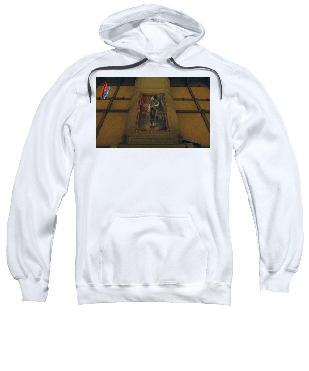 Dishonored Sweatshirt featuring the digital art Dishonored by Bert Mailer