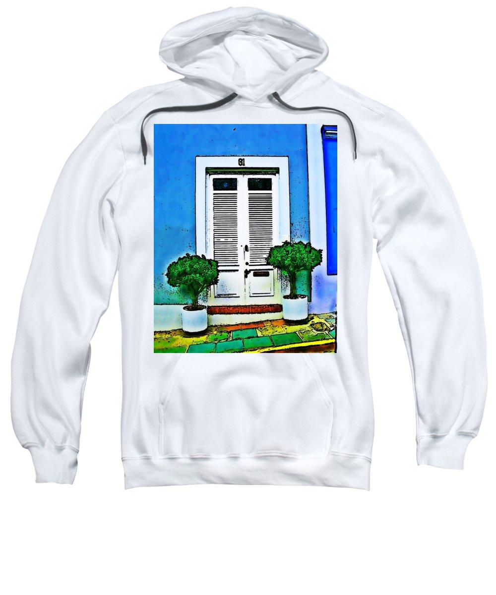 Door Sweatshirt featuring the photograph Door 61 by Perry Webster