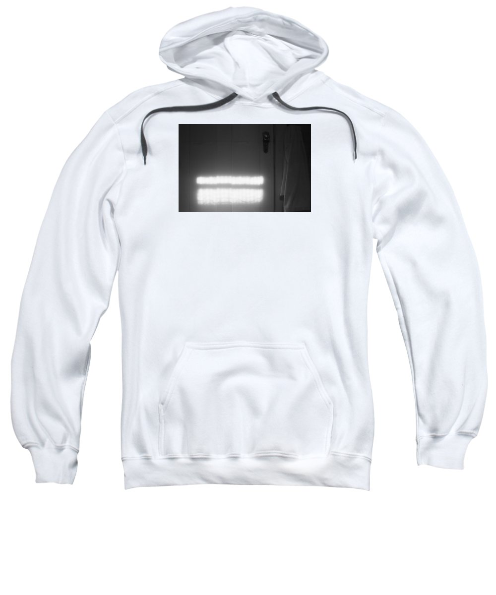 Abstract Sweatshirt featuring the photograph Door by Lyle Crump