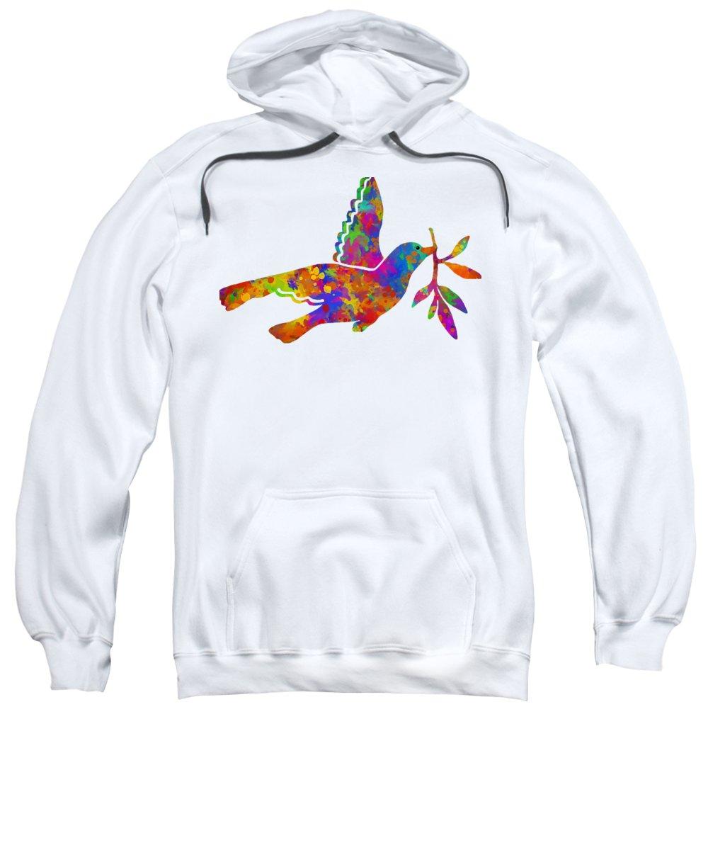 Dove Hooded Sweatshirts T-Shirts