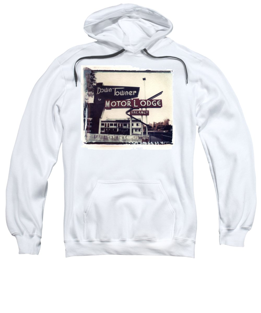 Landscape Sweatshirt featuring the photograph Down Towner by Jane Linders