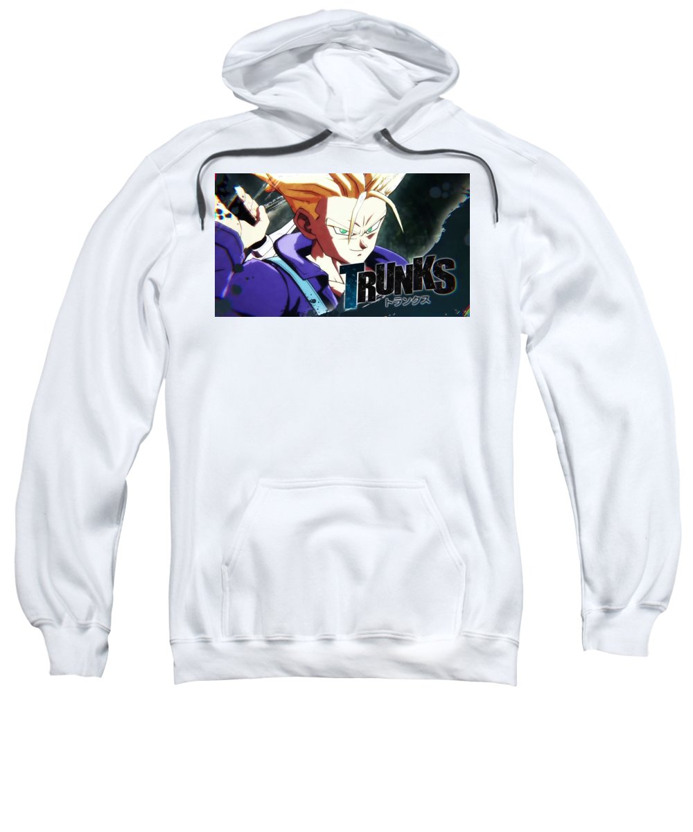 Dragon Ball Fighterz Sweatshirt featuring the digital art Dragon Ball Fighterz by Bert Mailer