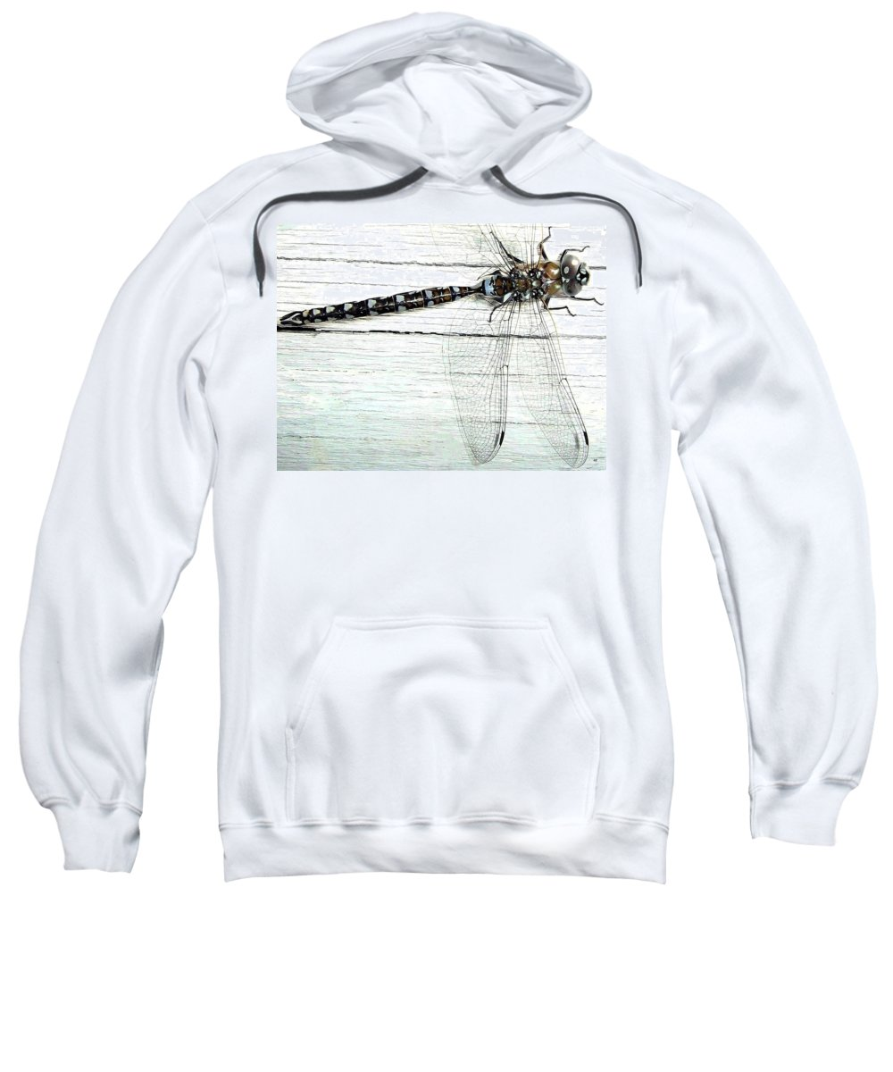 Insect Sweatshirt featuring the photograph Dragonfly by Will Borden