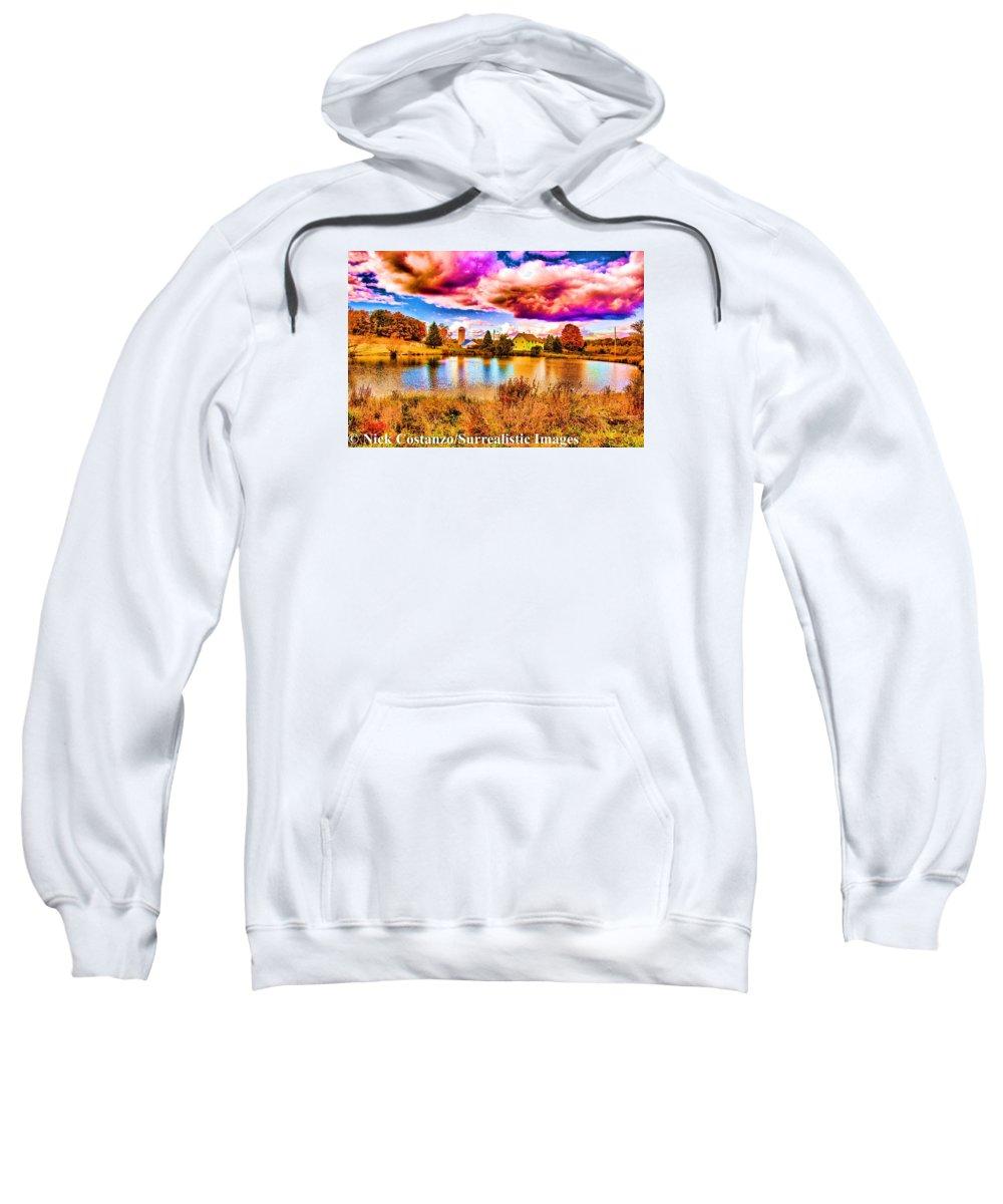 Fine Art Photography Sweatshirt featuring the photograph Drama by Nicholas Costanzo