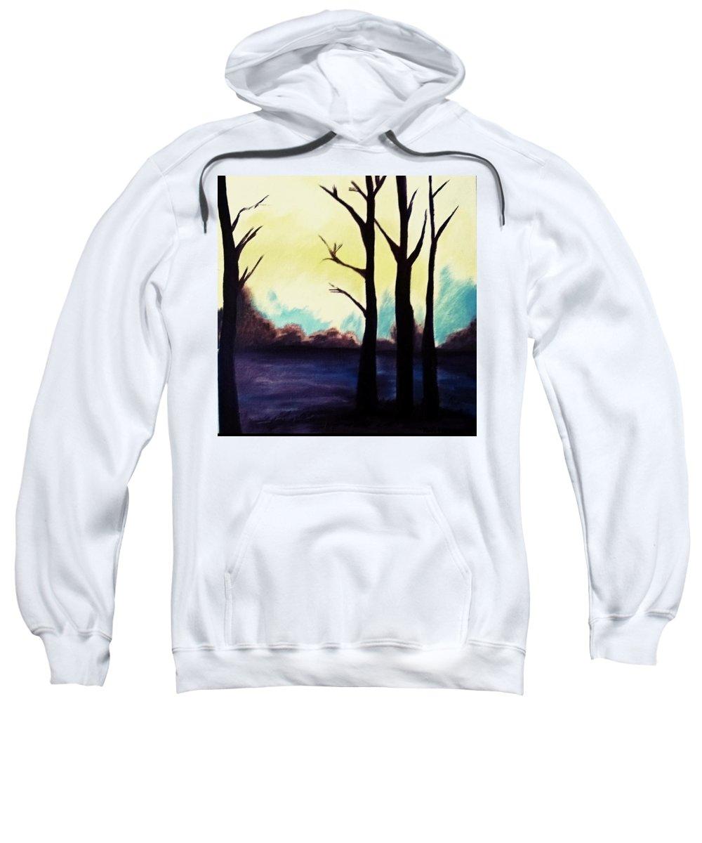 Landscape Sweatshirt featuring the painting Dream by Murali Gatti