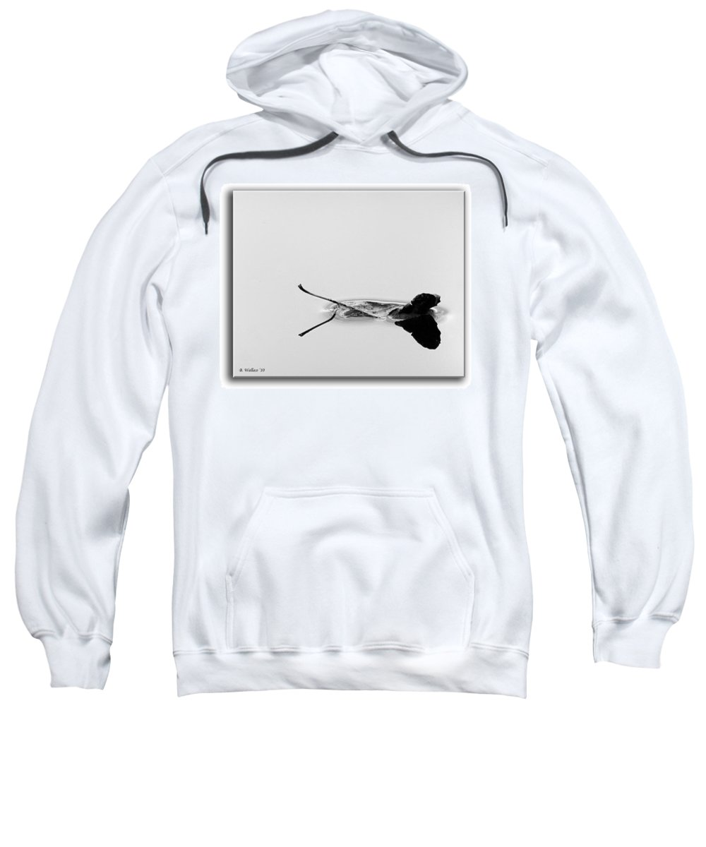 2d Sweatshirt featuring the photograph Drifting by Brian Wallace