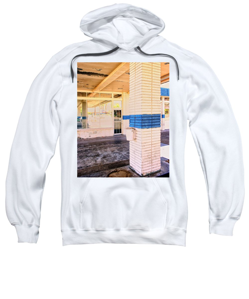 Building Sweatshirt featuring the photograph Drive Through by William Dey