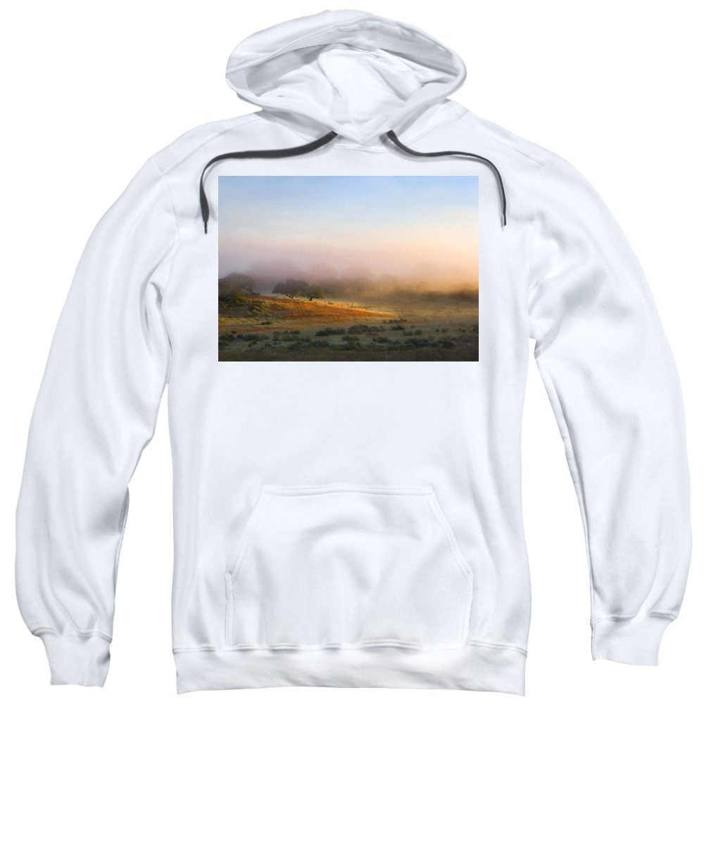 Landscape Sweatshirt featuring the photograph Early Morning Sunrise by Sharon Foster